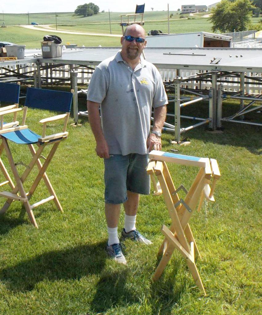 Brian DeCoster the owner of Big Ten Rentals in Iowa City