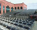 Tiered stage seating platform