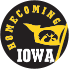 University of Iowa homecoming-logo