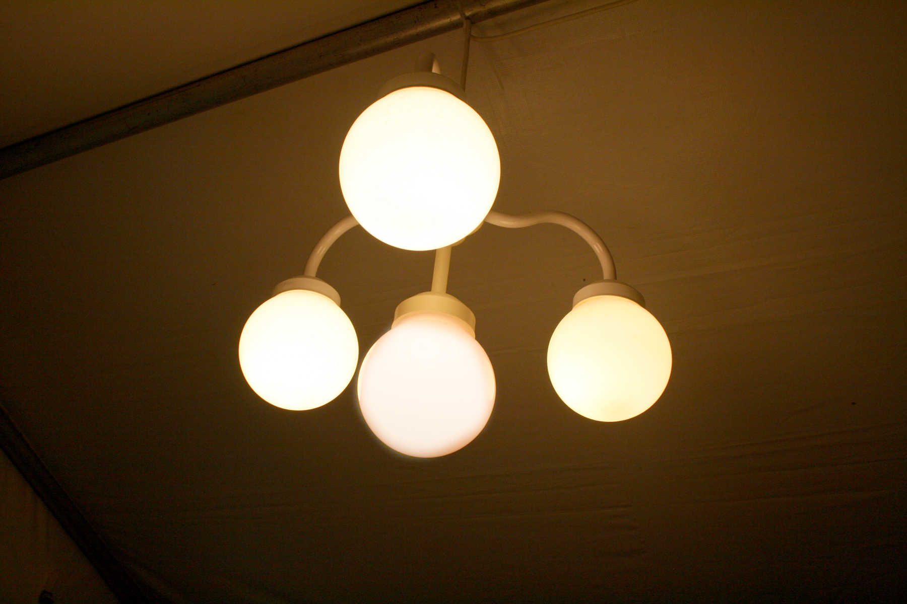 Multi globe hanging chandelier rental Iowa City CR QC IA