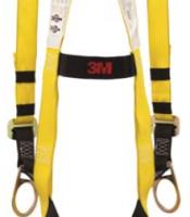 SafeLight 10911 Full Body Harness (Back with dorsal affixed)