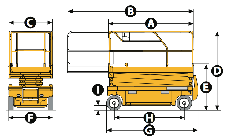 Scissor Lift Diagram