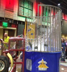 Splash into our dunk tank