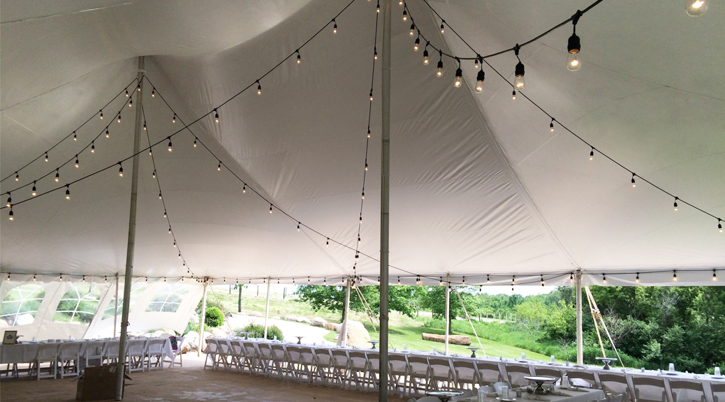 Edison Light Bulb/café string lights & Rent café lights/Edison light: Iowa Wedding u0026 Event lighting