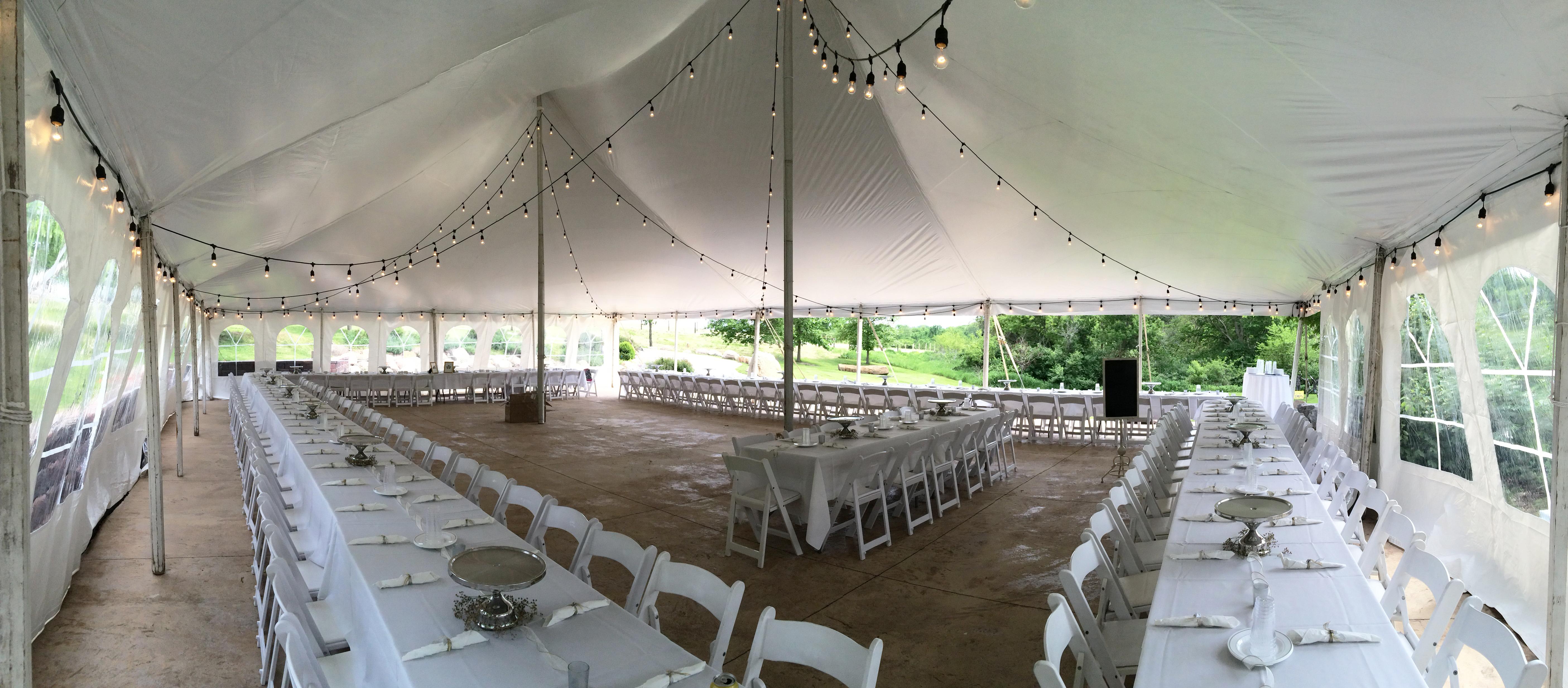 Rent cafe lights/Edison light: Iowa Wedding & Event lighting