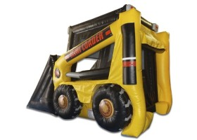 Bounce House area of Mini loader inflatable combo