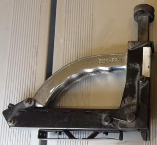 Manual sub floor stapler