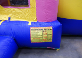 Operational Rules for Birthday cake bounce house and slide combo