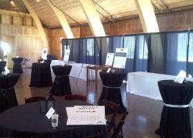 The Celebration Farm event set-up by Big Ten Rentals