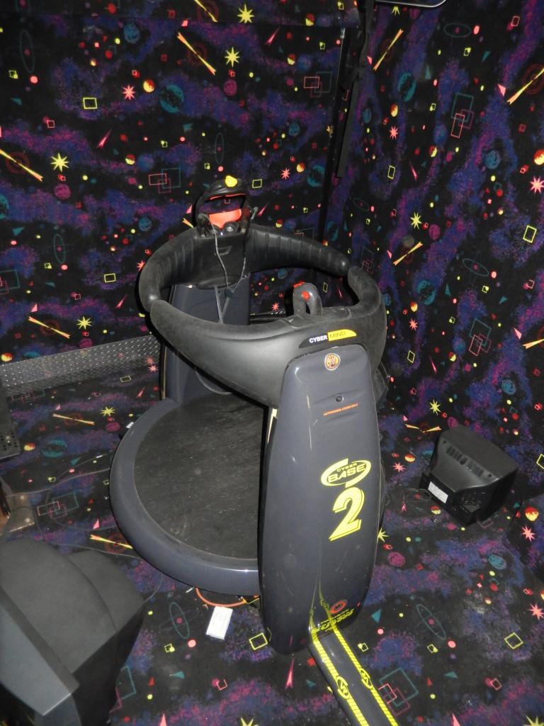Pod 2 For Cybermind Virtual Reality Game Su 2000 Cyberbase
