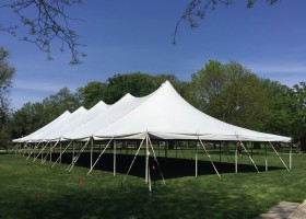 40′ x 120′ Rope and Pole Tent