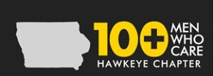100+ Men Who Care Hawkeye Chapter LOGO