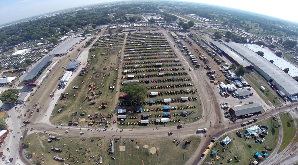 Multi Tent Outdoor Event Setup For 2015 Old Threshers Reunion