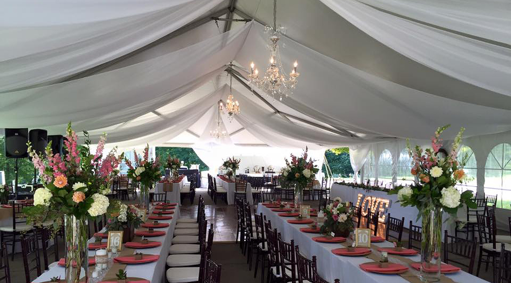 40 X 80 Hybrid Event Tent Structure Rental Iowa Il Mo