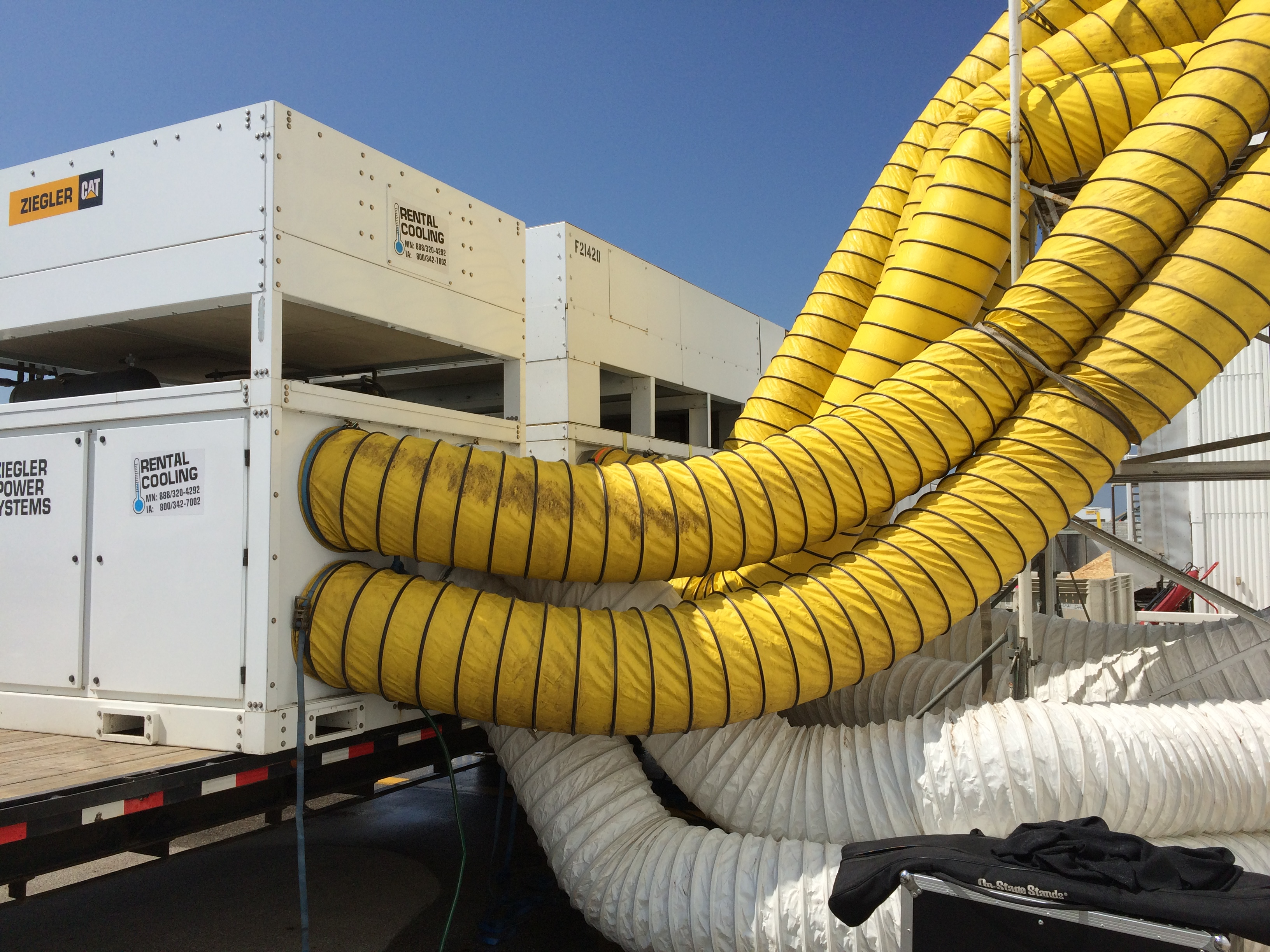 Event Air Conditioning With Speedy Setup & Installation