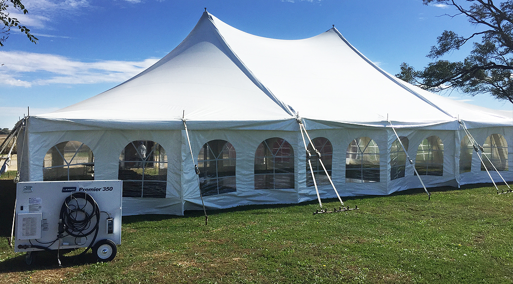 40 39 x 60 39 rope pole wedding tent in de witt iowa. Black Bedroom Furniture Sets. Home Design Ideas