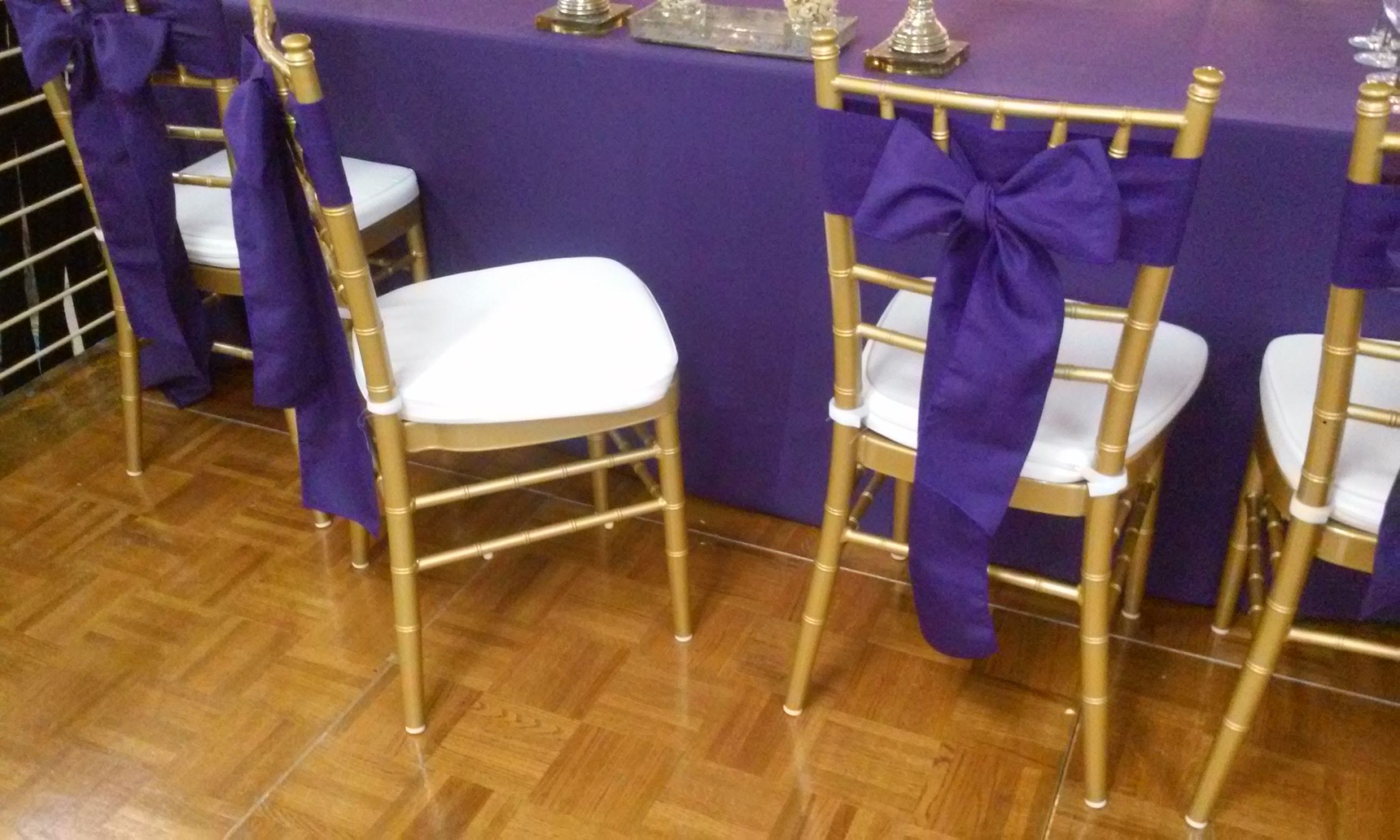 Chiavari chairs rental chicago chairs for - Gold Chiavari Chair Rental In Iowa City Iowa With Ribbon