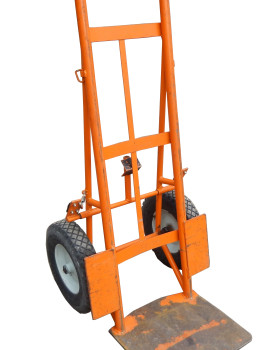 Standard Dolly with Extended Baseplate front