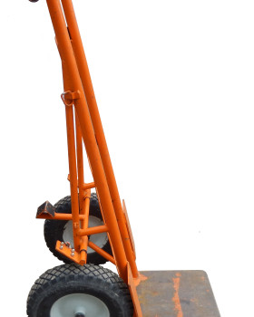 Standard Dolly with Extended Baseplate side
