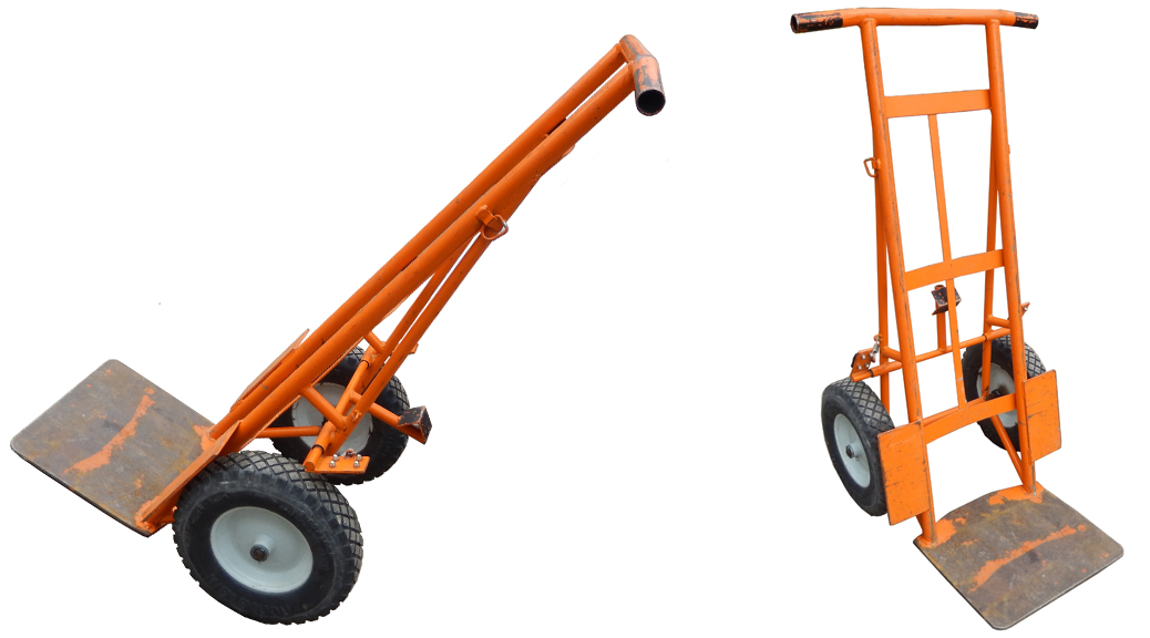 Standard Dolly with Extended Baseplate