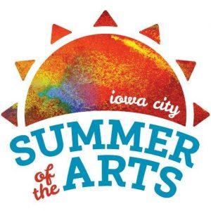 Iowa City Summer of the Arts logo 2016