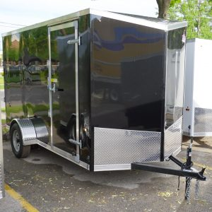 Black 6'x12' enclosed cargo trailer Vin Number 1925