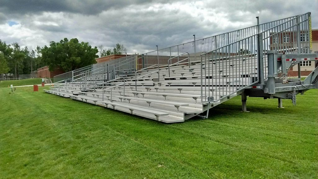 Bleachers At Iowa City High School In Iowa City Ia Iowa