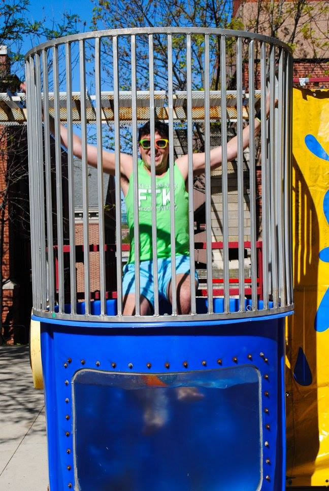 Dunk Tank At Uiowa Dance Marathon Summer Sendoff 2016