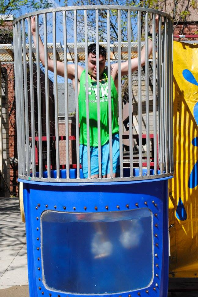 Dunk Tank Rental Iowa City Cedar Rapids Ia Towable