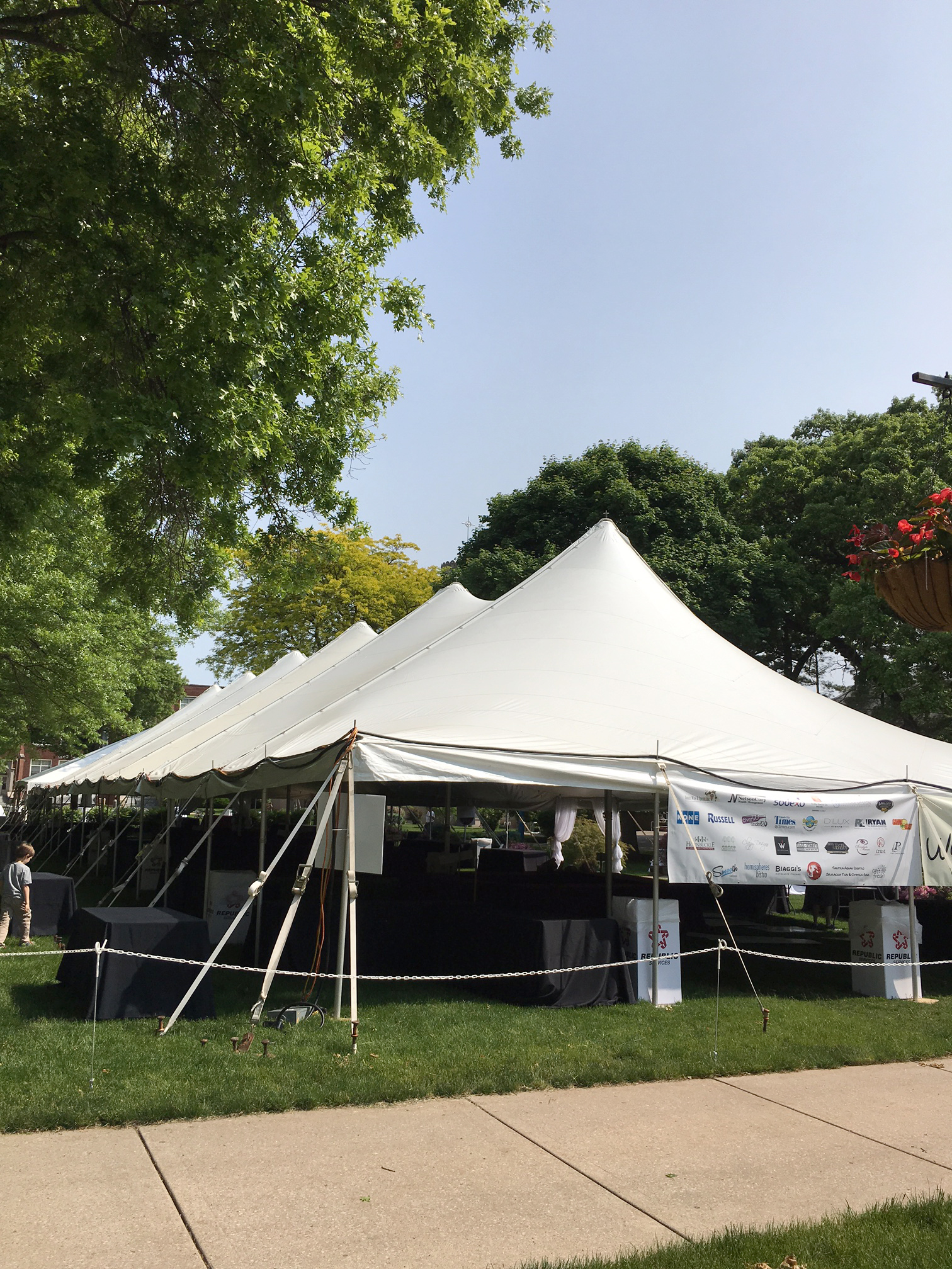 May 24 2016 1512 × 2016 Tents ... & Outside 40x140 rope and pole tent in Davenport IA Ready for a ...
