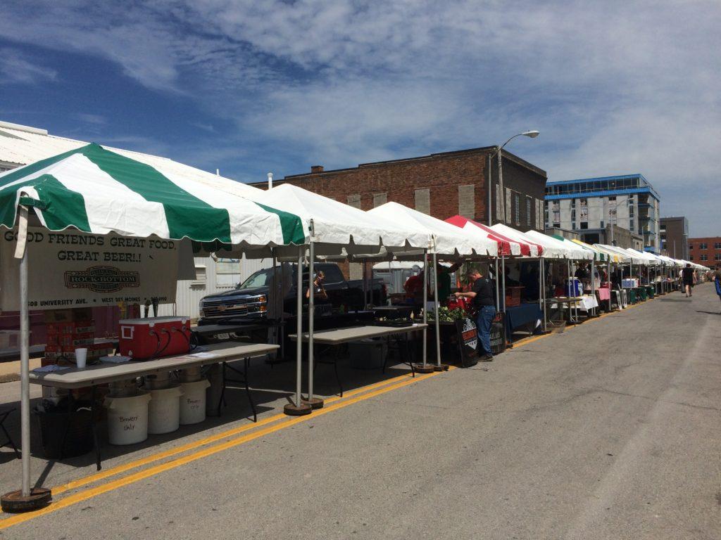 10 X 10 Frame Event Tent Rental In Iowa City Ceder