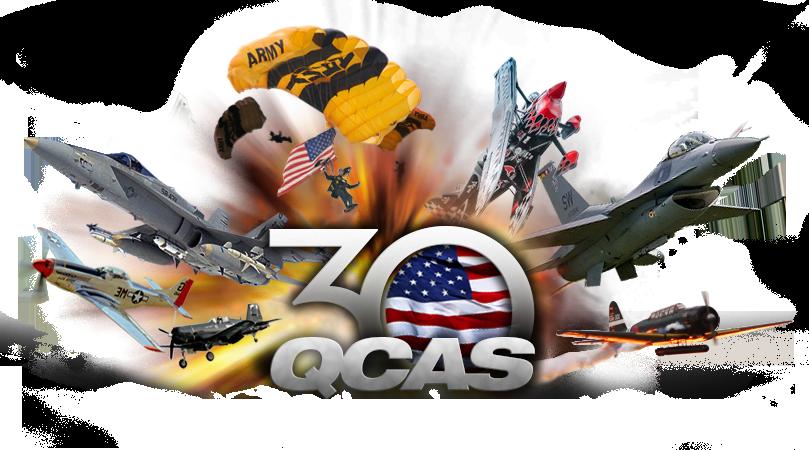QCAS 30th year logo