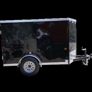 Right-side-of-5'-x-8'-black-single-axle-enclosed-trailer-[3055]-square
