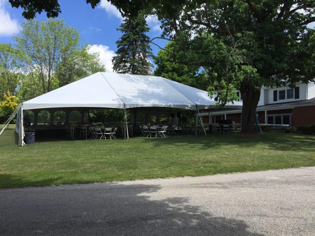 backyard weddings outdoor tent weddings by big ten rentals