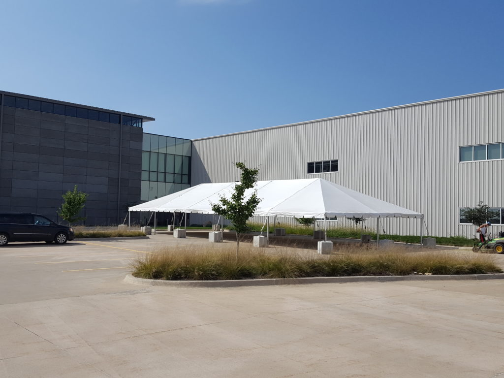 x party tent rental in grinnell iowa at brownells inc 30 x 75 frame tent at brownells in grinnell iowa