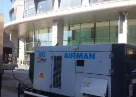 60k Generator, Walk-in Freezer at University of Iowa Children's Hospital