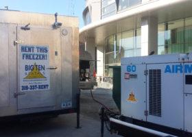 Walk-in Freezer and 60,000 kw Generator at the University of Iowa Children's Hospital