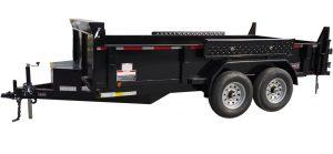 6' x 14' Tandem Axle Dump Trailer for rent [5931]