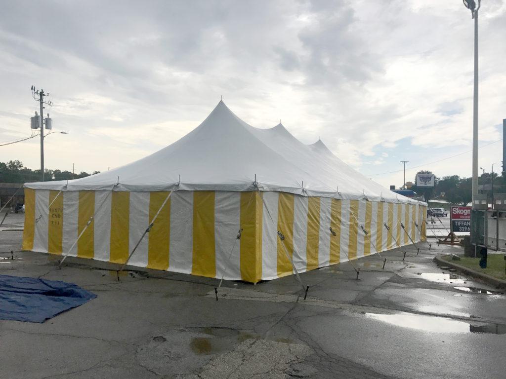 Galaxy Fireworks tent at 3801 1st Ave SE, Cedar Rapids, IA