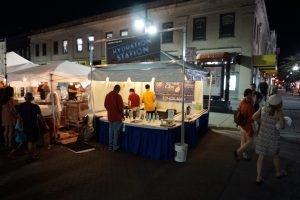 Hydration Station Tent at the 2017 Iowa City Jazz Festival