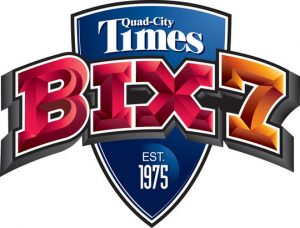 Quad-City Times Bix 7 logo