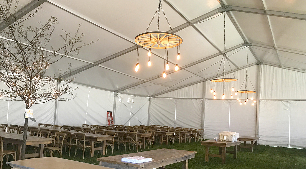 Tent By Big Ten Rentals And Design By Town Or Country Event Design In Iowa  City