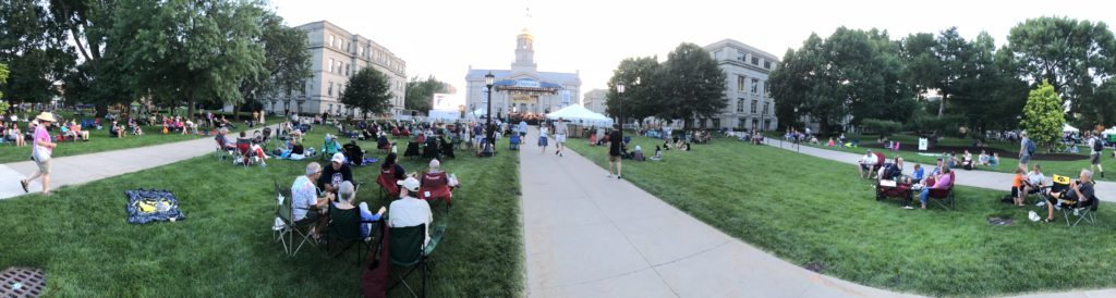2018 Iowa City Jazz Festival | Summer of the Arts (pano)