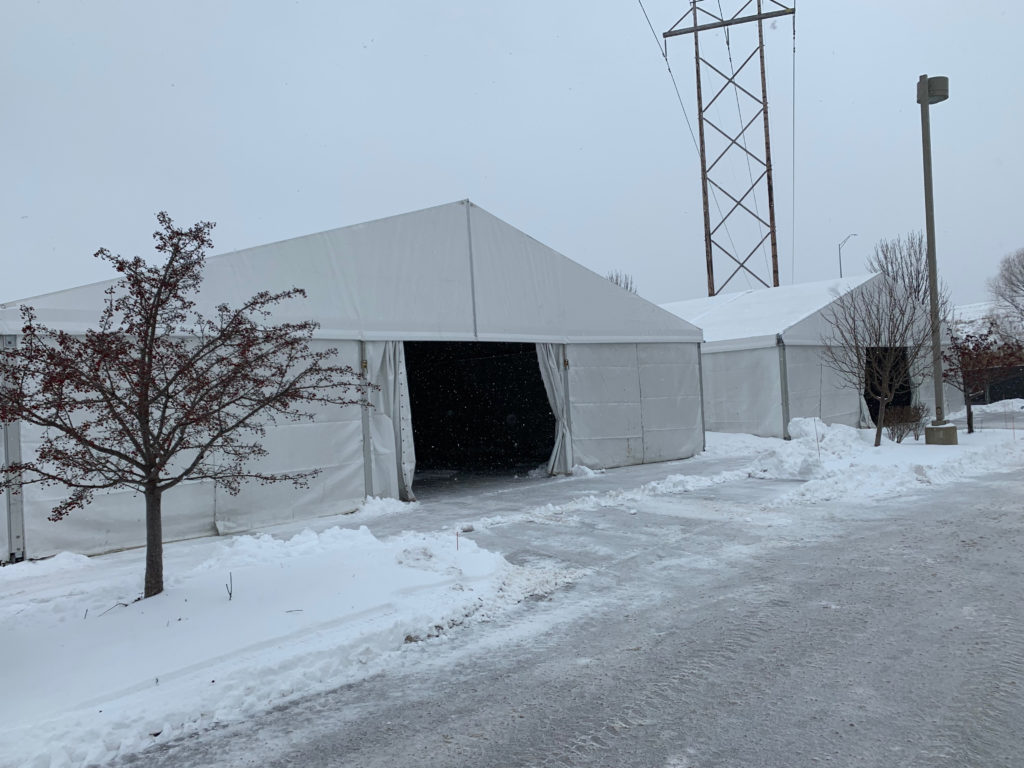 Temporary Warehouse Structures (On-Site Tents)
