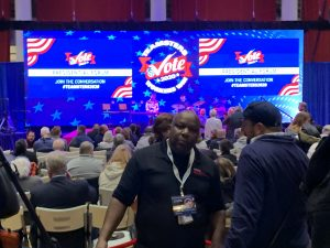 Crowd at Political Event for Teamsters Presidential Forum in December 7, 2019Crowd at Political Event for Teamsters Presidential Forum in December 7, 2019