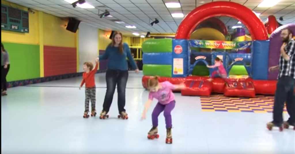 Portable Roller Skating Rink Rental for Indoor and Outdoor use